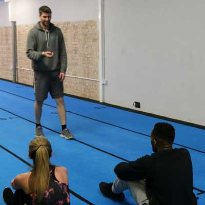 Roderic O'Donnell (BSc Hons) @ Back4health Fitness